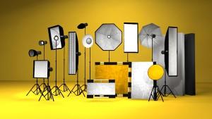 Lichtformer, beautydish, softbox, octabox, strip light, reflector, silver, gold,