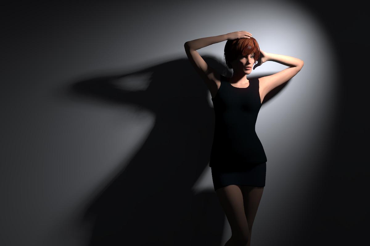 Virtuele Lichtsetzung im Studio