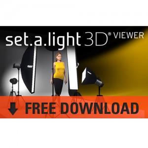 FREE set-a-light 3D VIEWER