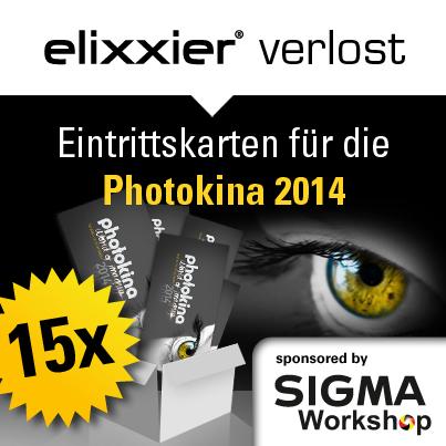 Photokina 2014 Eintrittskarten