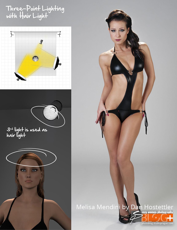 Imagery – 3 Point Lighting – Melisa Mendini by Dan H – 1