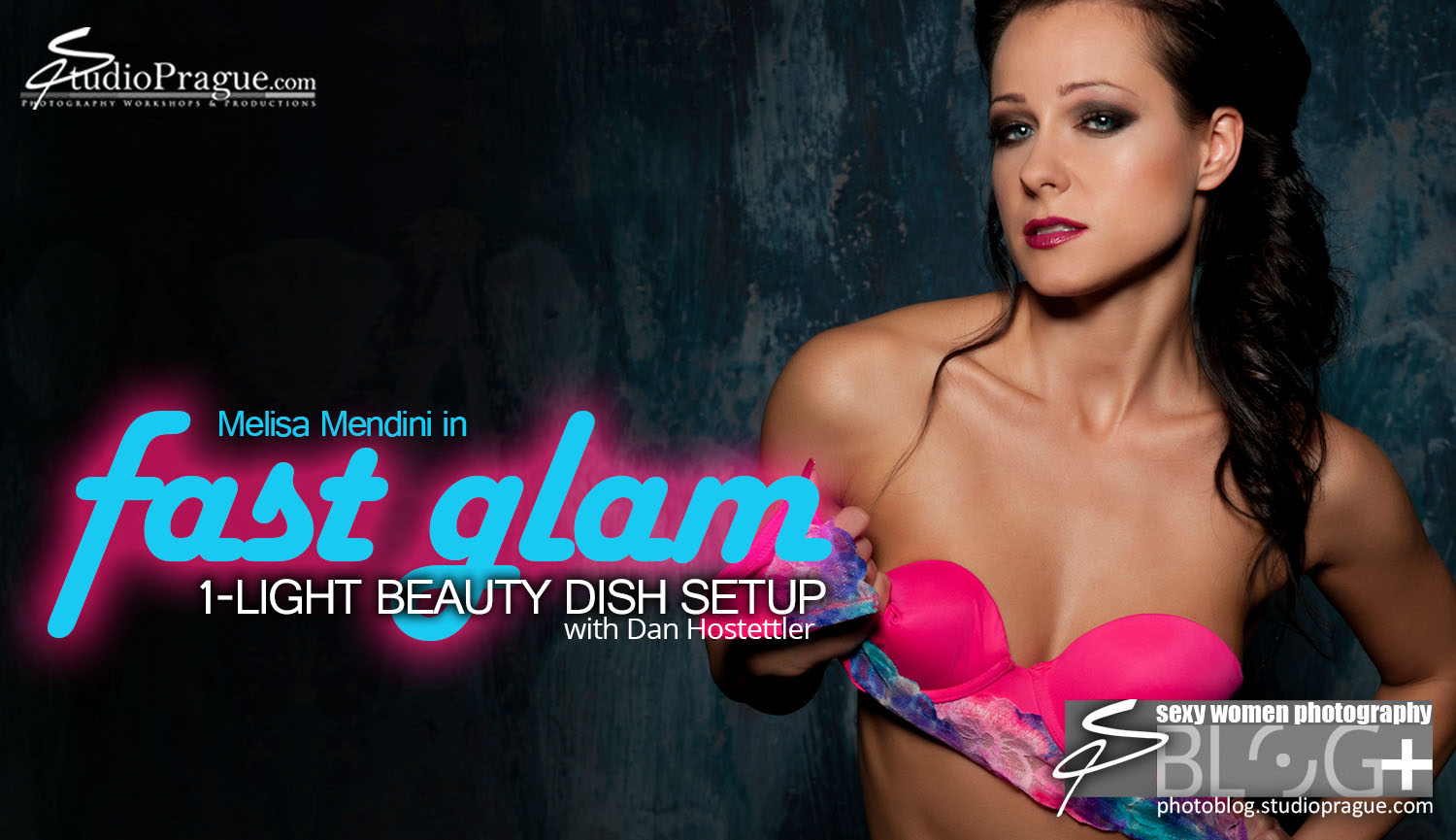 Header Imagery – 'Fast Glam' – Glamour Photography with Melisa Mendini