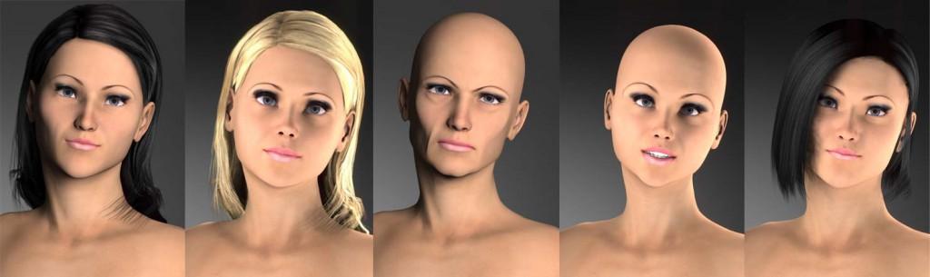 Model-Charakter