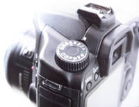 Digitalkamera mit Display