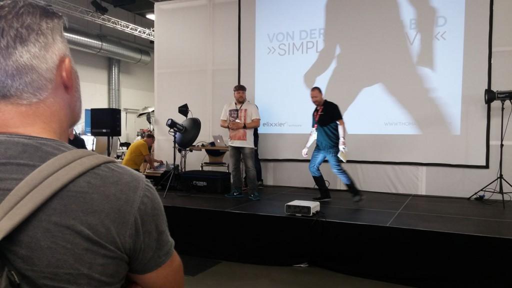 Bühnen-Show Thomas Adorff für elixxier