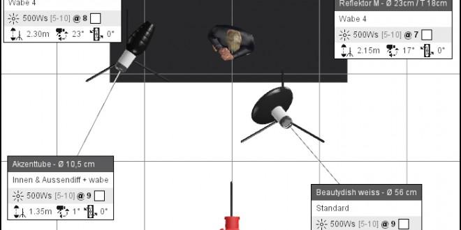 fotostudioaufbau-BeautyDish-reflektoren-1