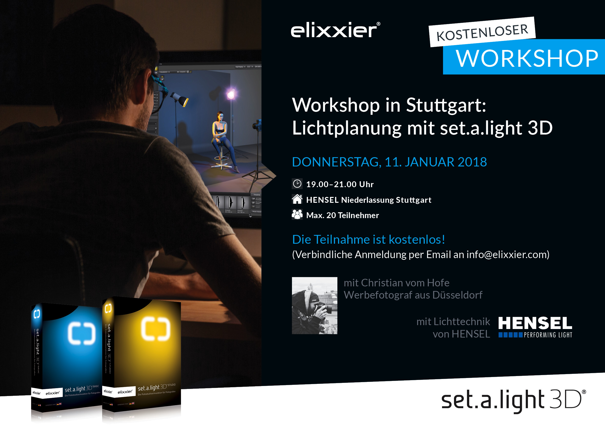 set.a.light 3D Workshop Hensel Stuttgart Flyer