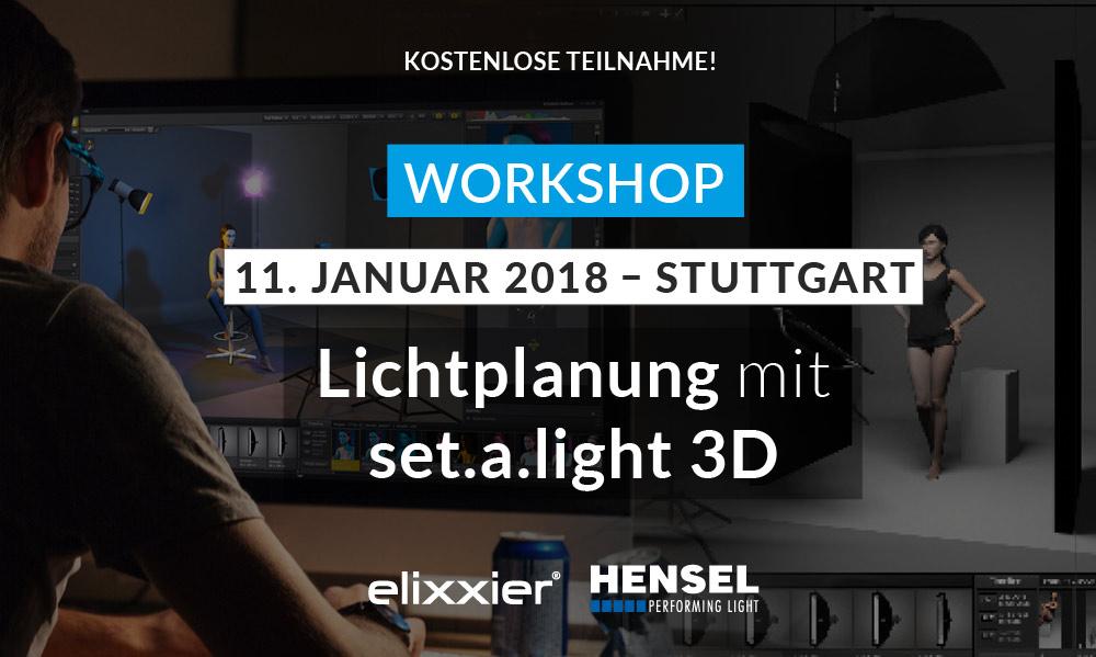 set.a.light 3D Workshop Hensel Stuttgart